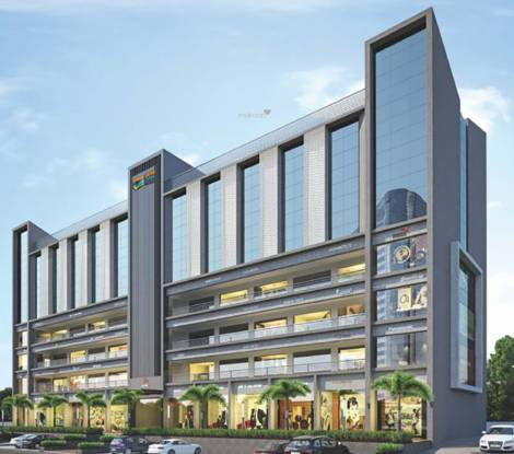 Suryam Trade Centre Elevation