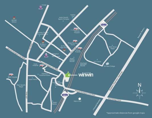 Wadhwa Codename Win Win Location Plan