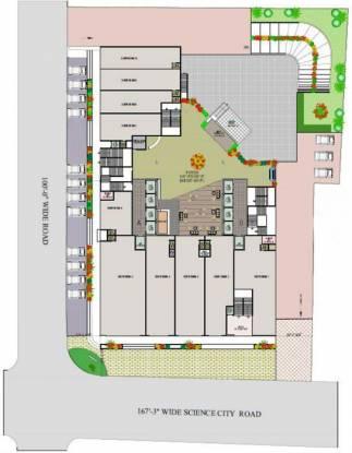 Sahjanand The Capital Site Plan