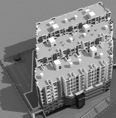 Shivam Tirupati Heights Elevation