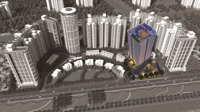 Pary Blue Tower Elevation