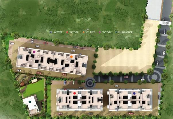Shree Nidhi Phase 2 A Wing Site Plan
