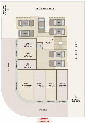 Pratham Sky Garden Cluster Plan