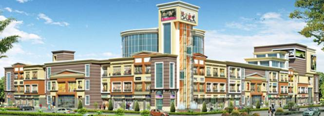 Aarcity Krishna Apra D Mall Elevation
