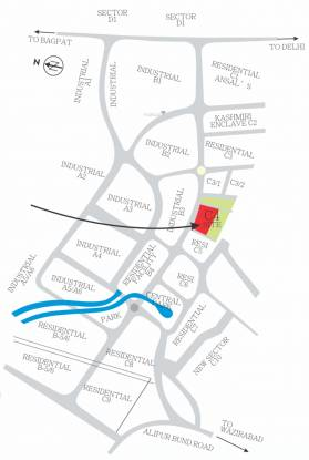 Magnum Star Cruise Mall Location Plan