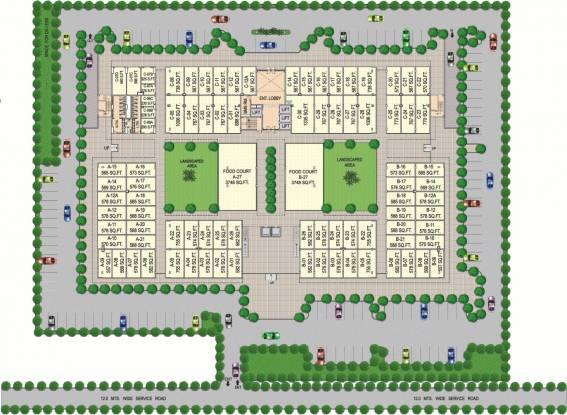 Vipul Plaza Site Plan