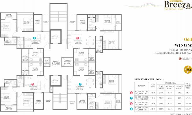 Choice Goodwill Breeza Phase 1 Cluster Plan