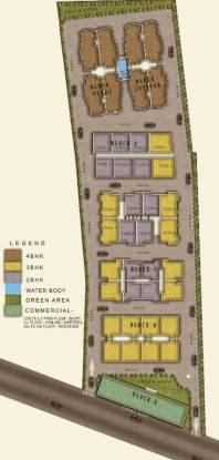 Investors Aashiyana Glory Site Plan