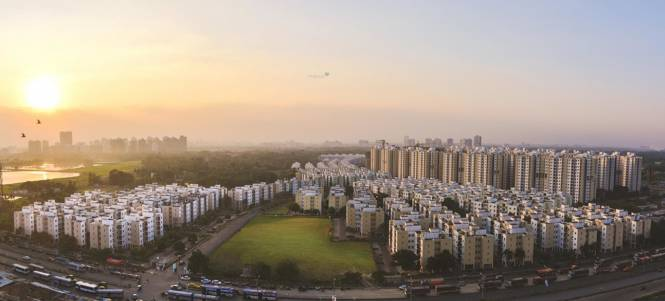 Shapoorji Pallonji Shukhobrishti Spandan Phase 8 Elevation