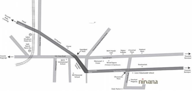 Sandhu Nirvana Ph 1 Location Plan