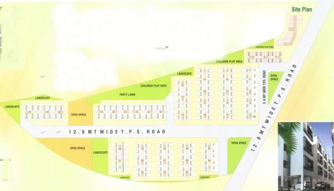 Green City Greencity Layout Plan