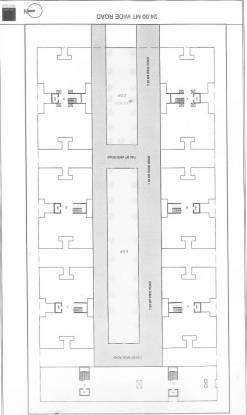 Square Inch Projects India Ltd Shreenath Classic Layout Plan