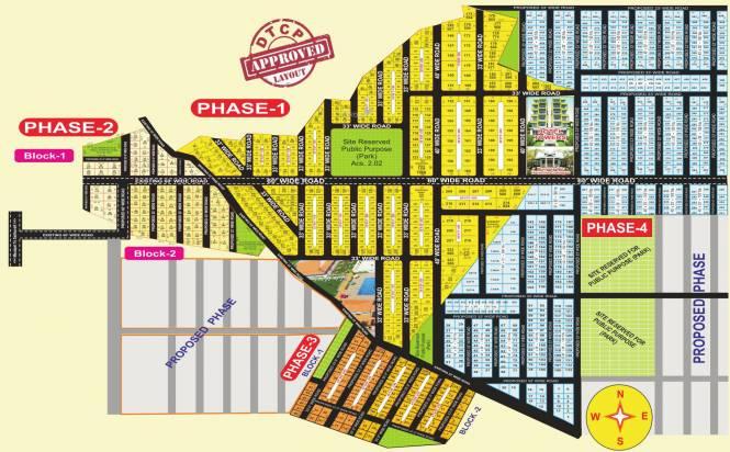 Harivillu Township Layout Plan