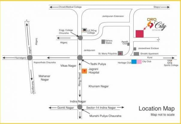 Oro Oro City Extension  Location Plan
