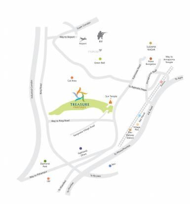 treasure-fantasy Location Plan