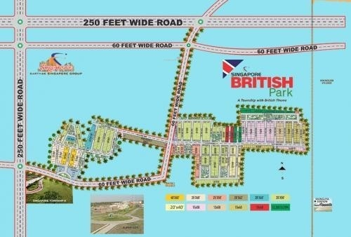 singapore-british-park Location Plan