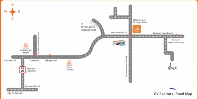 GV Realtors Gardens Phase 2 Location Plan