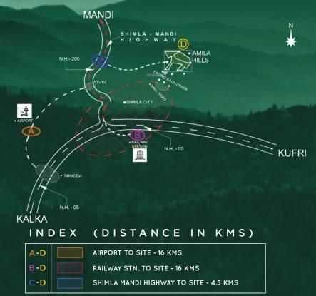 Amila Hills Location Plan