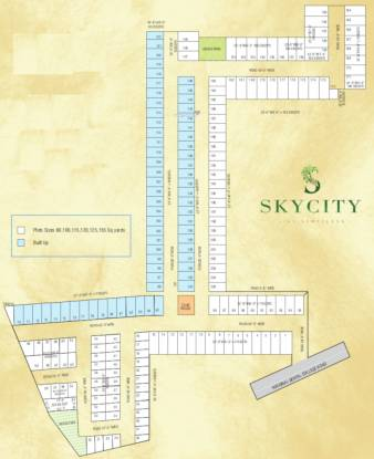 Vaneet Sky City Site Plan