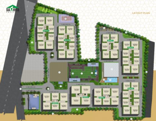 Samhita Splendid Homes Layout Plan