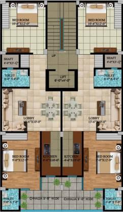 Balaji Homes Cluster Plan