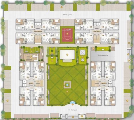 Rameshwaram Keshav Heights Layout Plan