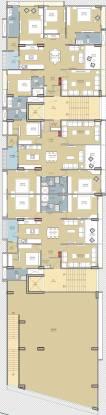 Tirupati Shreeji Heights Cluster Plan