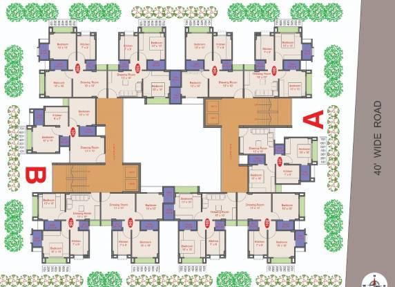 Ghoghari Amber 3 Cluster Plan