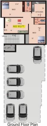 VGK Aditi Cluster Plan