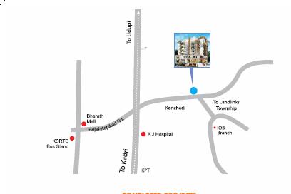 Aashirwad Dvaraka Enclave Location Plan