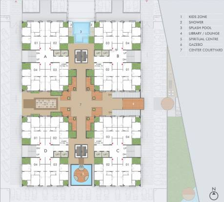 Rajyash Rajyash Reeva Cluster Plan