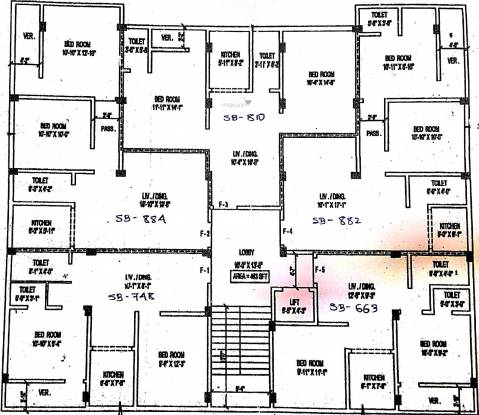 Balaji Pushpanjali Abasan Cluster Plan