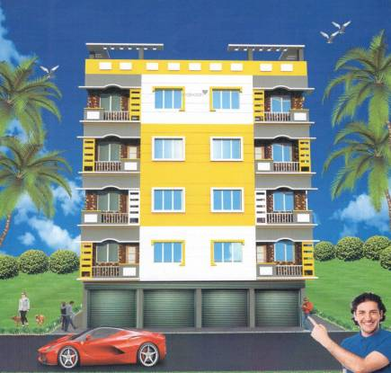 M A H Jai Ganesh Apartment 4 Elevation