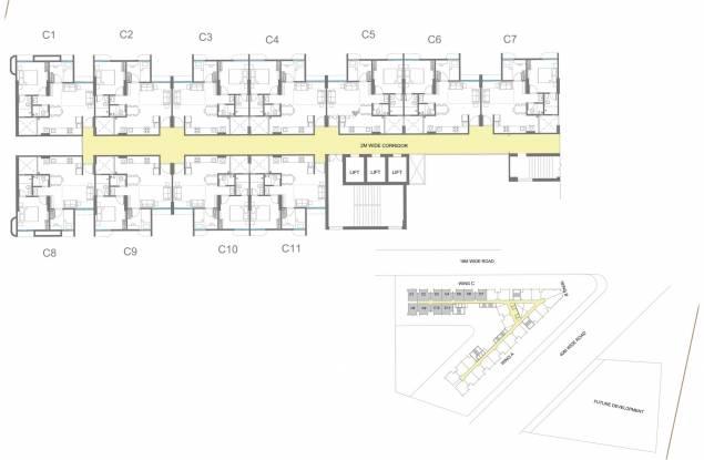 Godrej Vananta Cluster Plan
