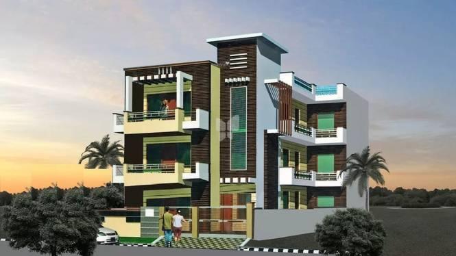 J R Vaibhav Floors Rohini Elevation