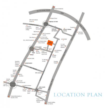 pride-homes Location Plan