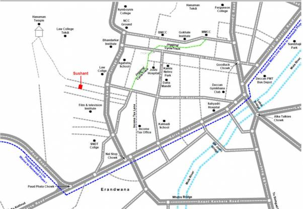 Urban ULV Sushant Location Plan