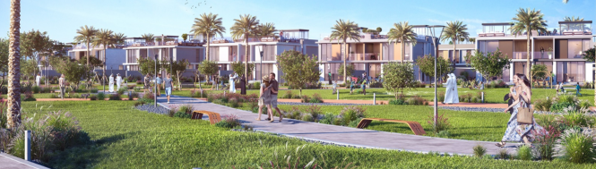 Emaar Golf Grove Elevation