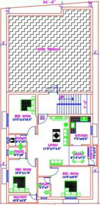 Muthu Prithishka Homes Cluster Plan
