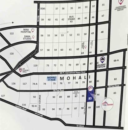 Joy Homes Phase III Plot No F170 And F171 Layout Plan