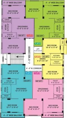 Sreedeep Villa Cluster Plan