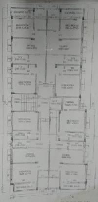 B G Raj Apartment Cluster Plan