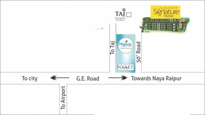 Avinash Magneto Signature Homes II Location Plan