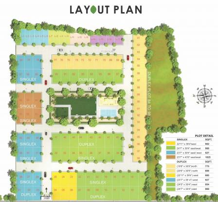 Avinash Elite Homes Layout Plan