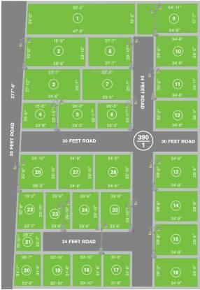 GTK Shobha Empire Layout Plan