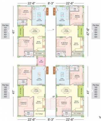 APR Praveens Prime Cluster Plan