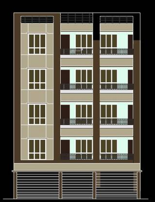 Siddhi Vinayak Apartment 5 Elevation