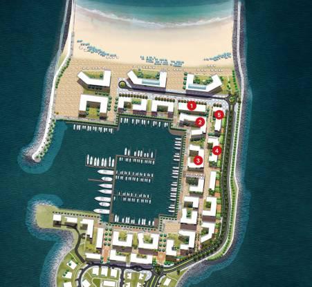Meraas Port de La Mer La Cote Master Plan