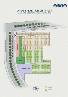 BPTP Nest 81A Layout Plan