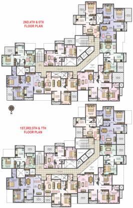 Arihant Amantara Cluster Plan